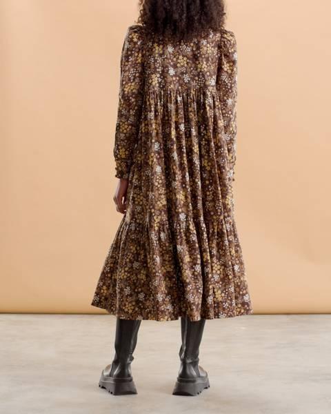 Bilde av byTIMO DAY SHIRT DRESS GARDEN