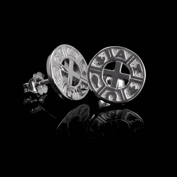 Bilde av VERA DESIGN Infinity Tiny Earrings Silver