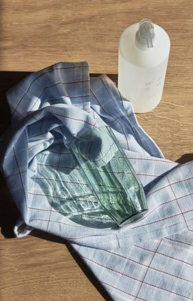 Bilde av HÜBSH DRIKKEGLASS GRØNT GLASS