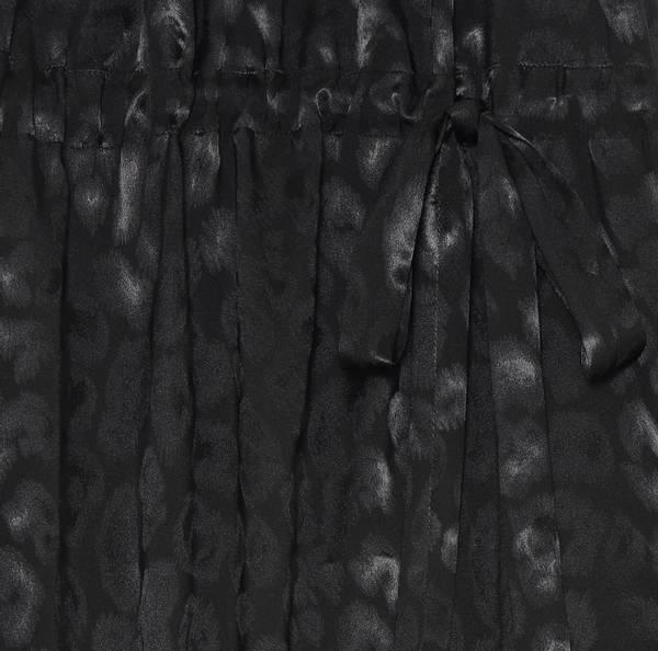 Bilde av KARMAMIA LAYLA DRESS BLACK LEO JACQUARD BLACK
