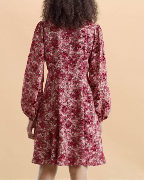 Bilde av byTiMo Autumn  50's Dress Roses